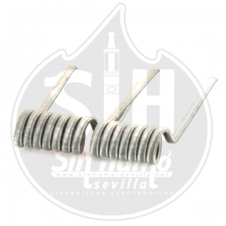 Fused Low Cost 0,21 Ohm Full N80 - Bacterio Coils