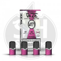 VAZE Pods Red Fruits 20mg (4x Pack)