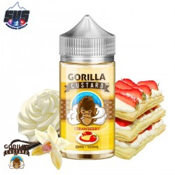 Banana 100ml TPD by Gorilla Custard