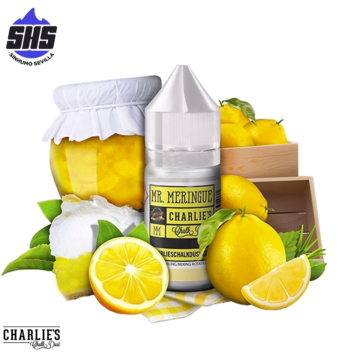 Aroma Mr. Meringue 30ml by Charlie's Chalk Dust