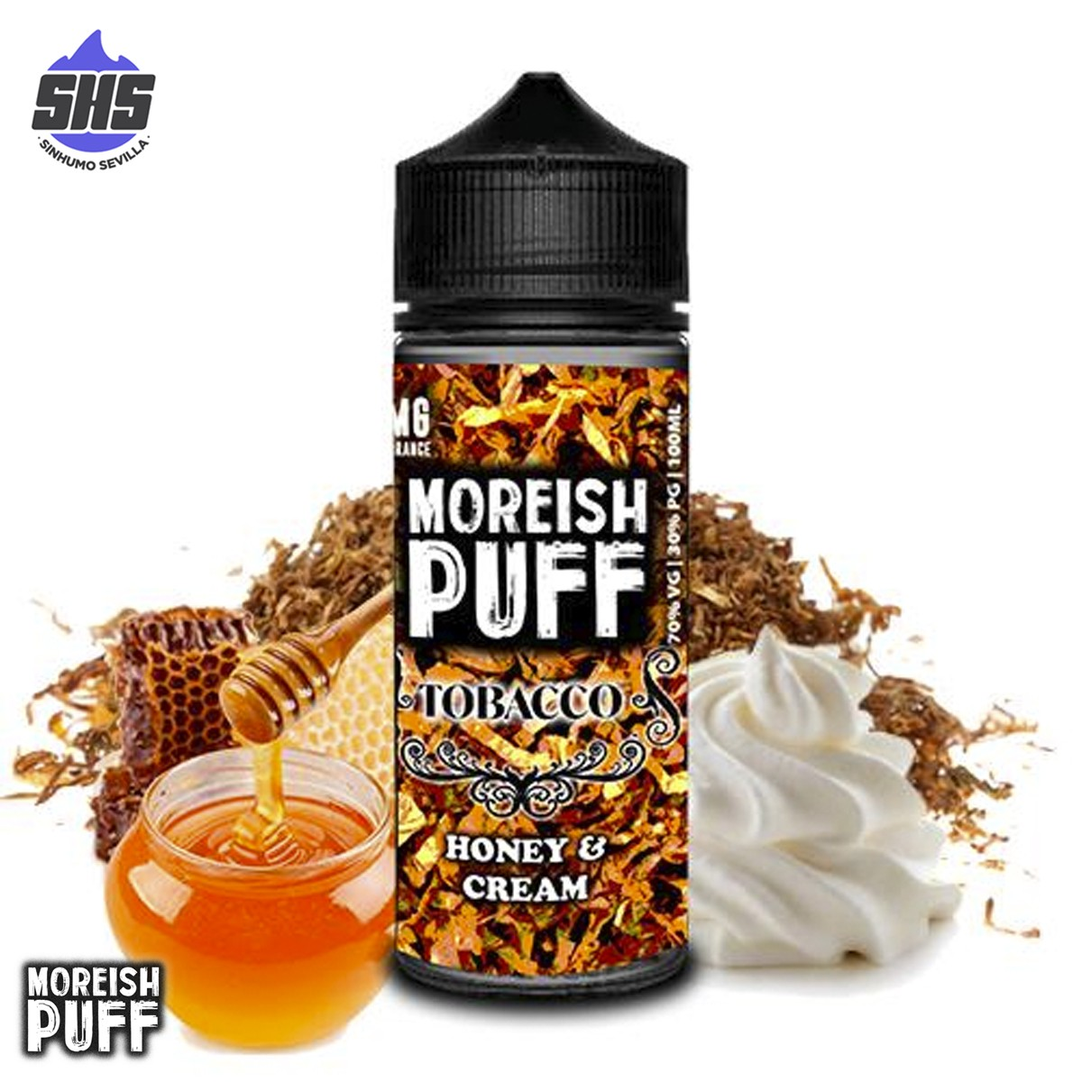 Tobacco Butterscotch 100ml by Moreish Puff