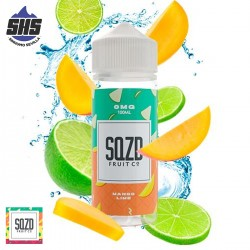 Blue Raspberry 100ml by SQZD Fruit Co