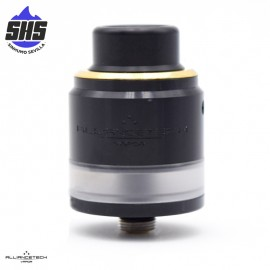 The Flave Evo 24mm BF RDTA (Black Gold Ring) by AllianceTech Vapor