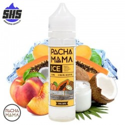 Peach Papaya Coconut ICE 50ml TPD by PachaMama