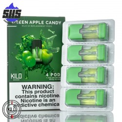 KILO Pods Green Apple Candy 20mg (4x Pack)