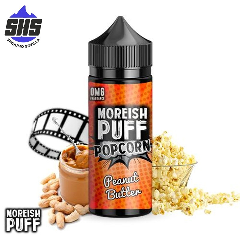 Popcorn Peanut Butter 100ml by Moreish Puff