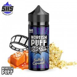 Popcorn Salted Caramel 100ml by Moreish Puff