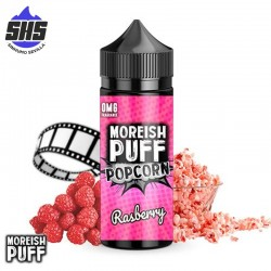 Popcorn Raspberry 100ml by Moreish Puff