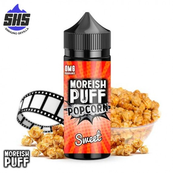 Popcorn Sweet 100ml by Moreish Puff