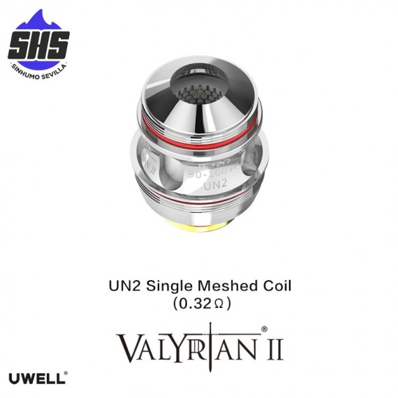 Coils Valyrian II UN2 Single Meshed Coil (0.32 Ω)  by Uwell