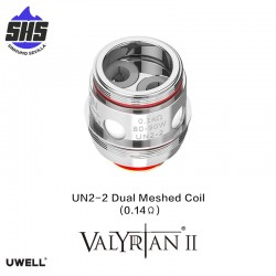 Coils Valyrian II UN2-2 Dual Meshed (0.14 Ω)  by Uwell