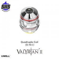 Coils Valyrian II Cuadruple (0.15 Ω)  by Uwell