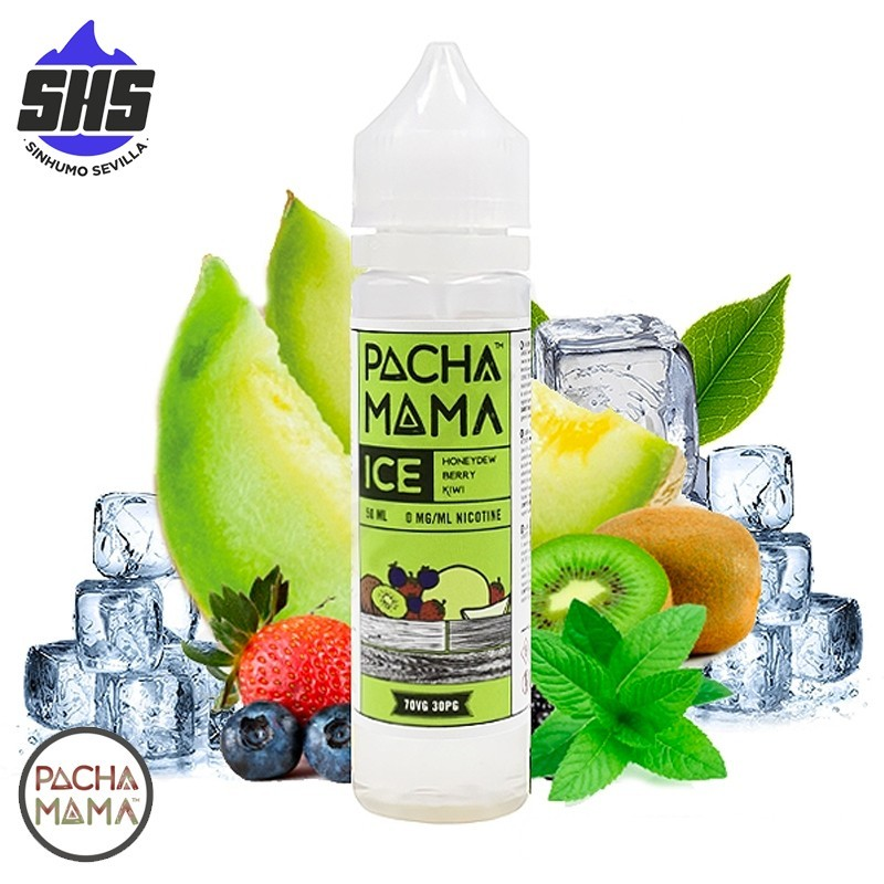 Honeydew Mint ICE 50ml TPD by PachaMama