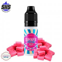 Bubble Gum 20mg 10ml - Dinner Lady Salts