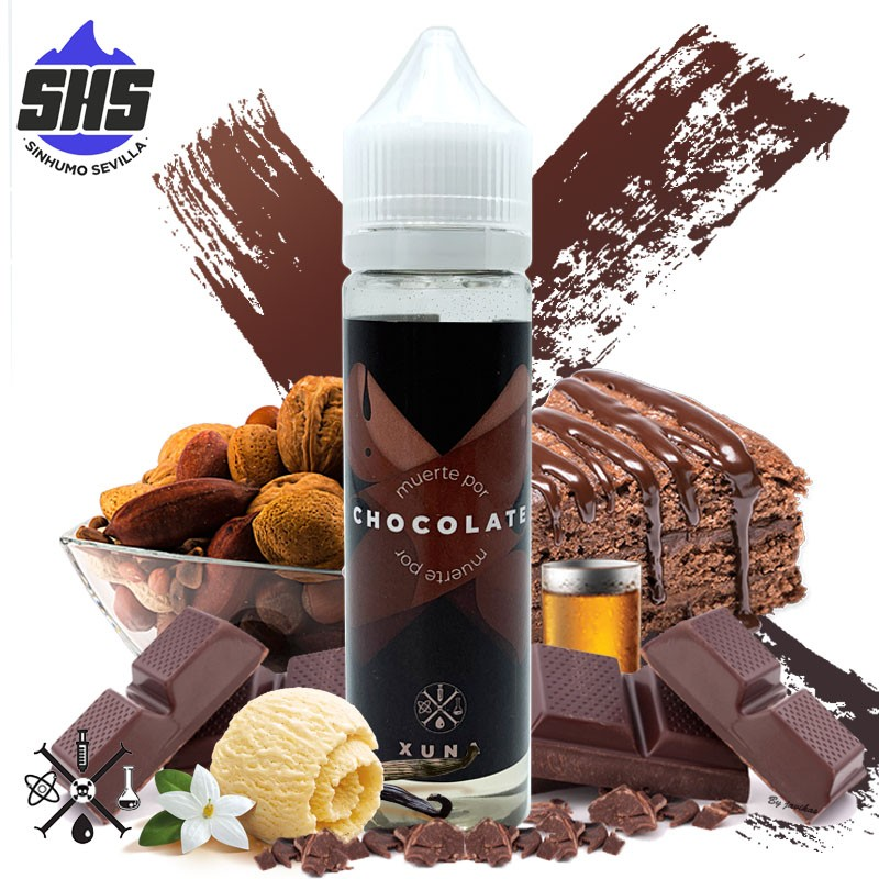 Muerte Por Chocolate 50ml TPD by Xuna Eliquid