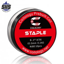 Performance Coil Ni80 Staple by Coilology