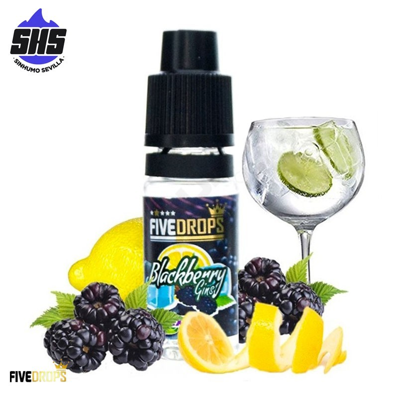 Aroma Blackberry Gins 10ml by Five Drops