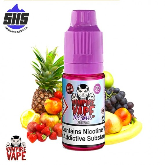 Pinkman Salts 20mg 10ml - Vampire Vape Salts