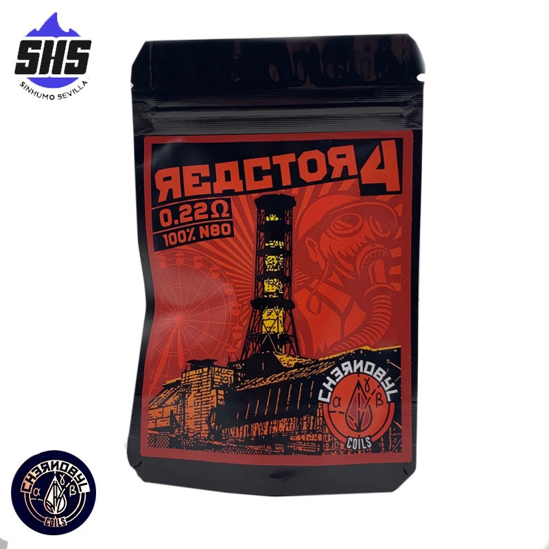 Reactor4 0.22Ohm by Chernobyl coils by Charro Coils