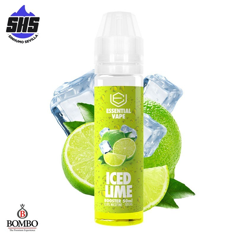 Iced Lime Essential Vape 50ml  TPD by Bombo