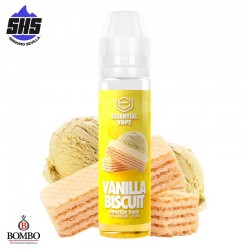Vanilla Biscuit Essential Vape 50ml TPD by Bombo