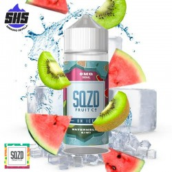 Watermelon Kiwi On Ice 100ml by SQZD Fruit Co