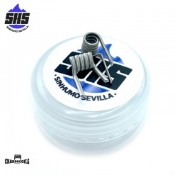 Noniná (Dual Coil) 0.15Ohm Special edition SHS by Charro Coils