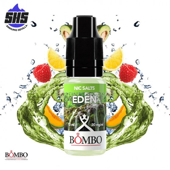 Eden 20mg 10ml by Nic Salts by Bombo