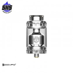 Blotto RTA Silver By Dovpo & Vaping Bogan