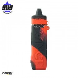 Funda de silicona Black Red para Vinci Pod by Voopoo