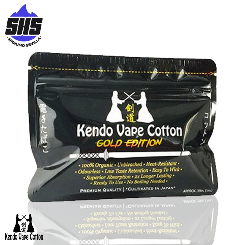 Gold Edition By Kendo Vape Cotton