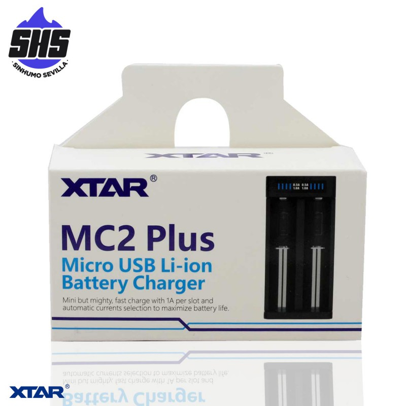 Cargador MC2 Plus By Xtar