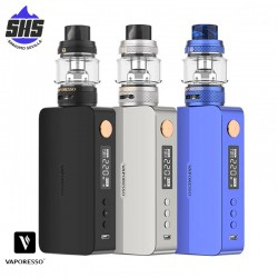Kit Gen X Black 220W & NRG-S Mini Tank by Vaporesso