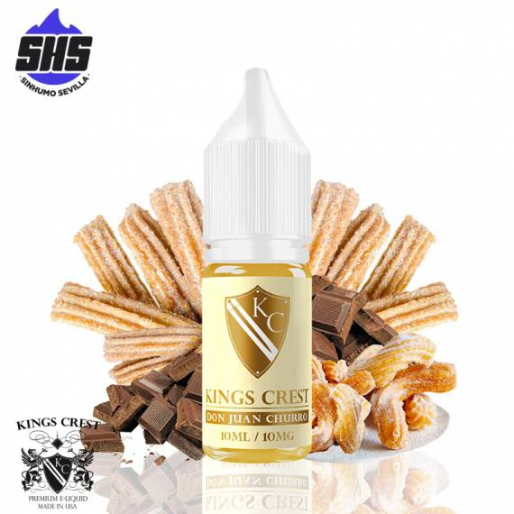 Don Juan Churro 10mg/ml (Sales de Nicotina) 10ml by Kings Crest