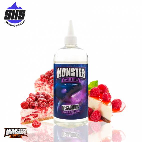 Megalodon Cheese Cake 450ml By Monster Club