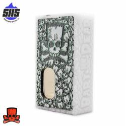 Mod Artesanal Dragon Dead White-Black/Green By Bart Dead