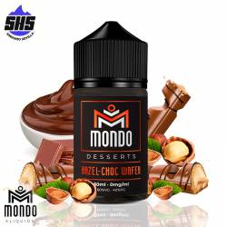Hazel-Choc Wafer 50ml By Mondo E-liquids