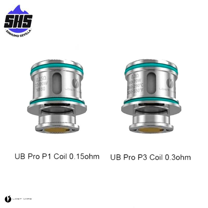 Resistencias UB Pro para Ursa Quest Multi Kit By Lost Vape