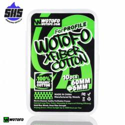 Cotton Xfiber 60mm (10 unidades) By Wotofo
