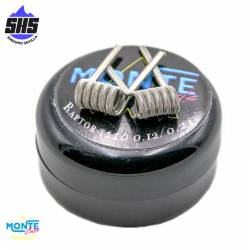 Resistencias Raptor 0,12 Ohm by Montecoils