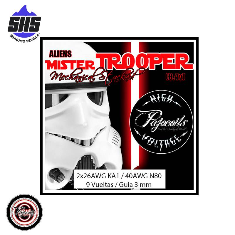 Aliens Mr. TROOPER HIGH VOLTAGE (Mechanical edition) By Pajocoils