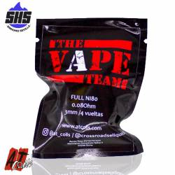 The Vape Team 0.08 Ohm by AT Coils