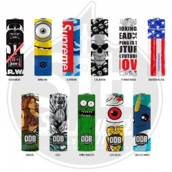 Battery Wraps 20700 y 21700